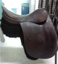 Big brand saddle - but the design has had its day