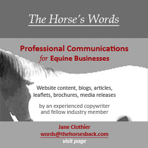Copywriting for Equine Companies