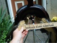 This saddle fits all arabians - and is a bargain too